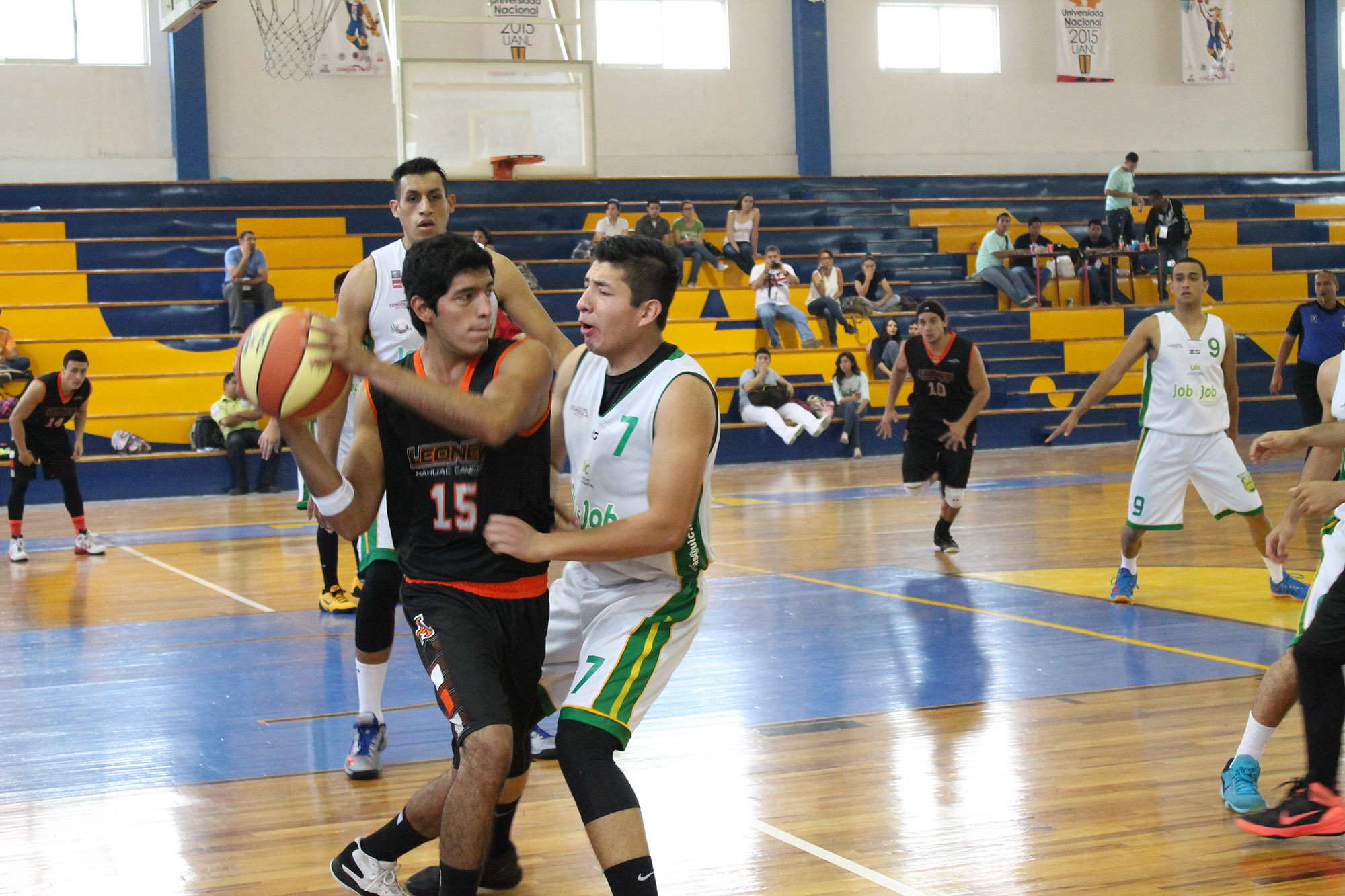 Universiada nacional 2015-basquetbol  ITESM Guadalajara vs Universidad Marista de Merida-foto Norma Martinez 9
